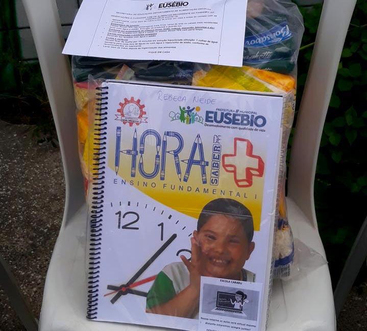 Eusébio não realizará aulas presenciais em junho nas escolas municipais; alunos continuam o aprendizado em suas casas