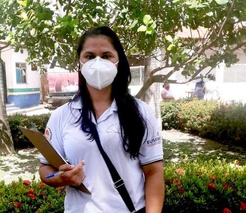 Agentes de Saúde de Eusébio atuam na conscientização das famílias para a importância da vacinação