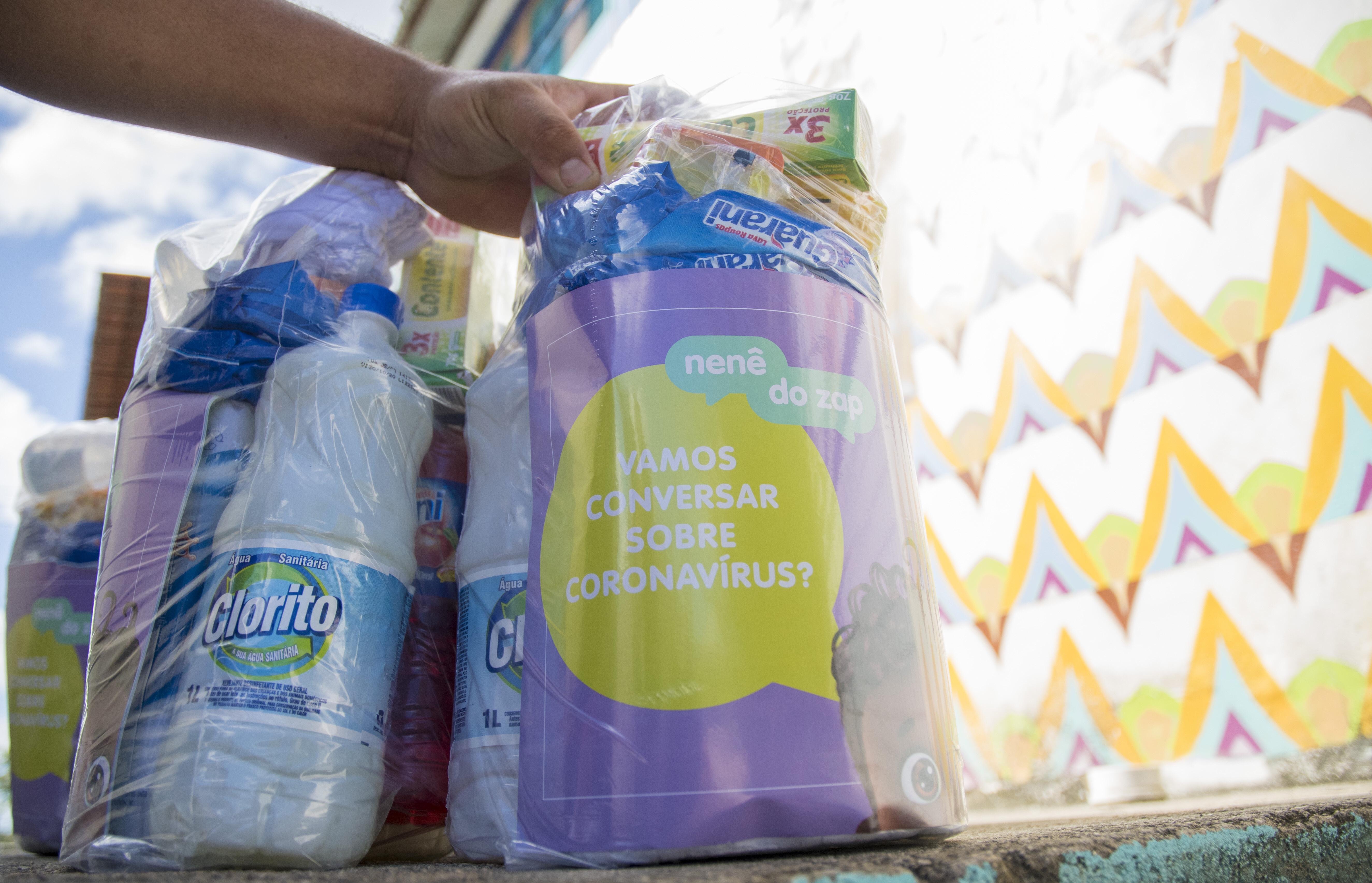 Prefeitura de Eusébio, Governo do Estado e Iprede entregam Kits de Higiene para famílias carentes