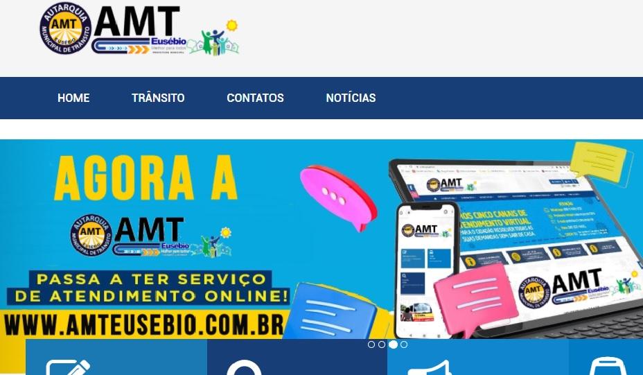 AMT lança portal para facilitar o atendimento aos eusebienses