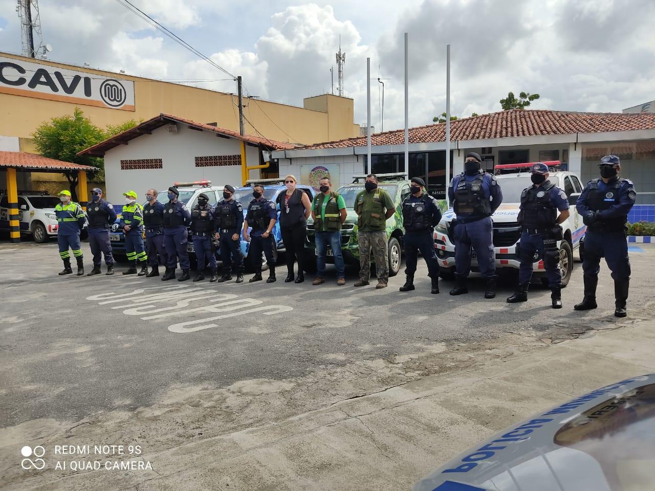 Operação ComVida fiscaliza cumprimento do decreto municipal que amplia enfrentamento da COVID-19 no Eusébio