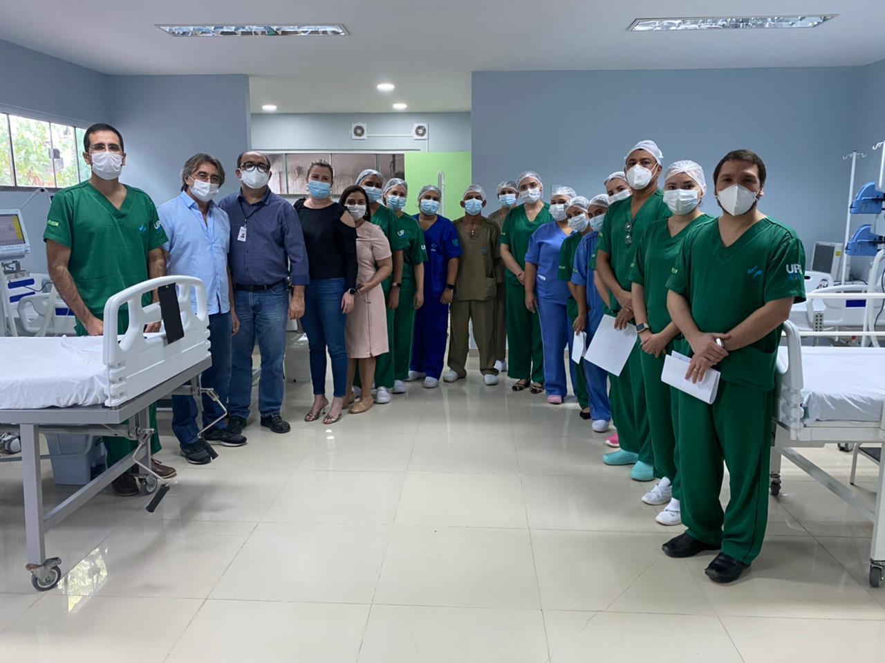Prefeitura de Eusébio entrega 20 leitos exclusivos para pacientes com COVID-19 no Hospital Amadeu Sá
