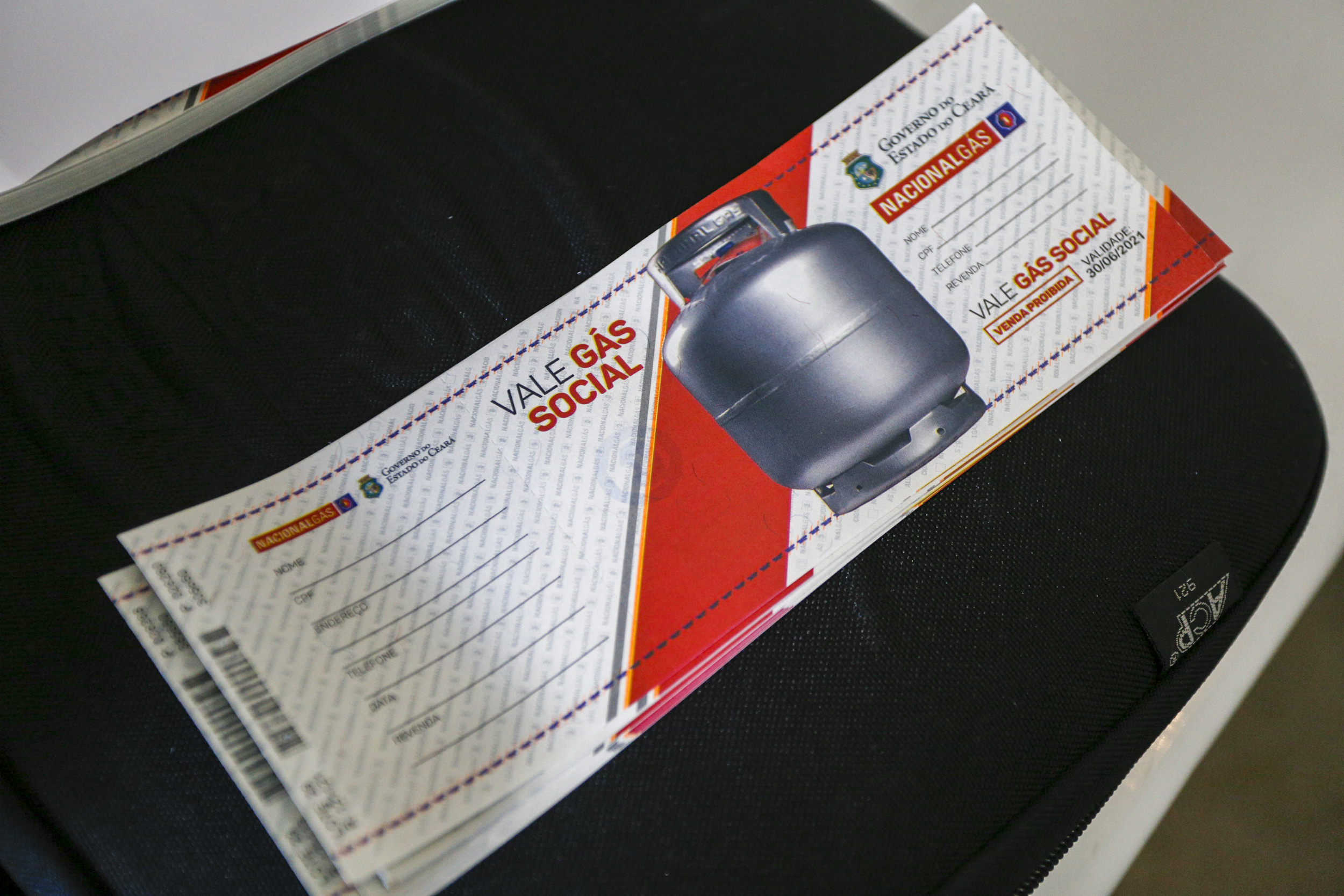 Prefeitura de Eusébio entrega de 13 a 16 de abril o primeiro lote do Vale Gás