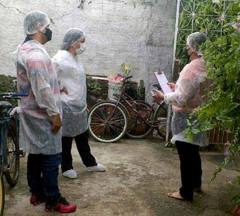 Equipe da Escola de Promoção à Vida de Eusébio realiza visitas domiciliares aos alunos que se preparam para a conclusão do curso