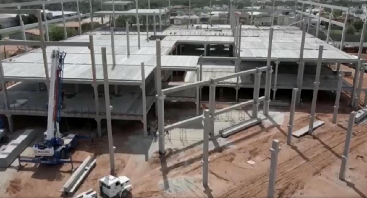 Terrazo Shopping está com obras avançadas e prevê gerar 2 mil empregos até o próximo ano no Eusébio