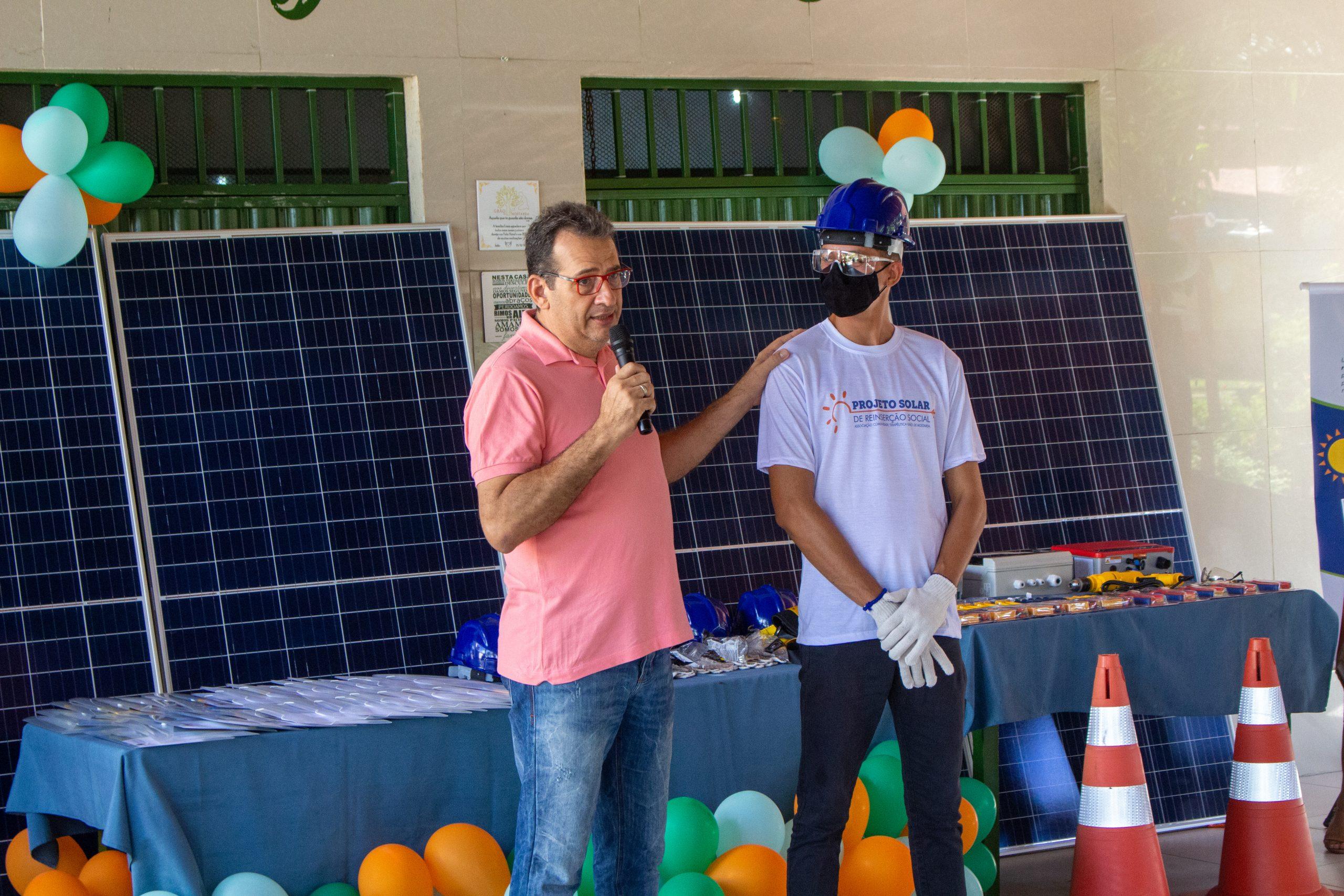 Lançado curso de formação em energia fotovoltaica para acolhidos em comunidades terapêuticas de Eusébio