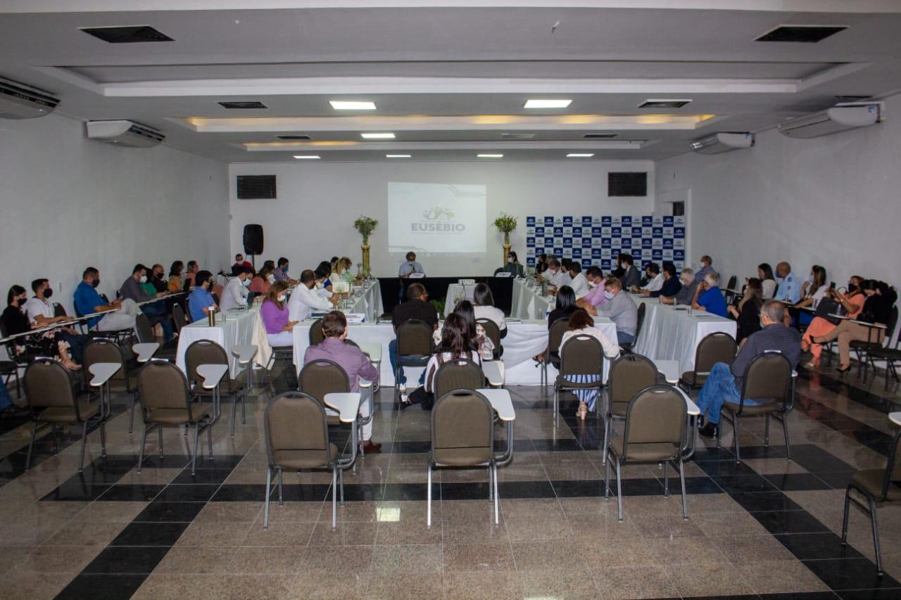 Prefeitura de Eusébio realiza primeiro encontro de Monitoramento de Ações e Projetos Prioritários