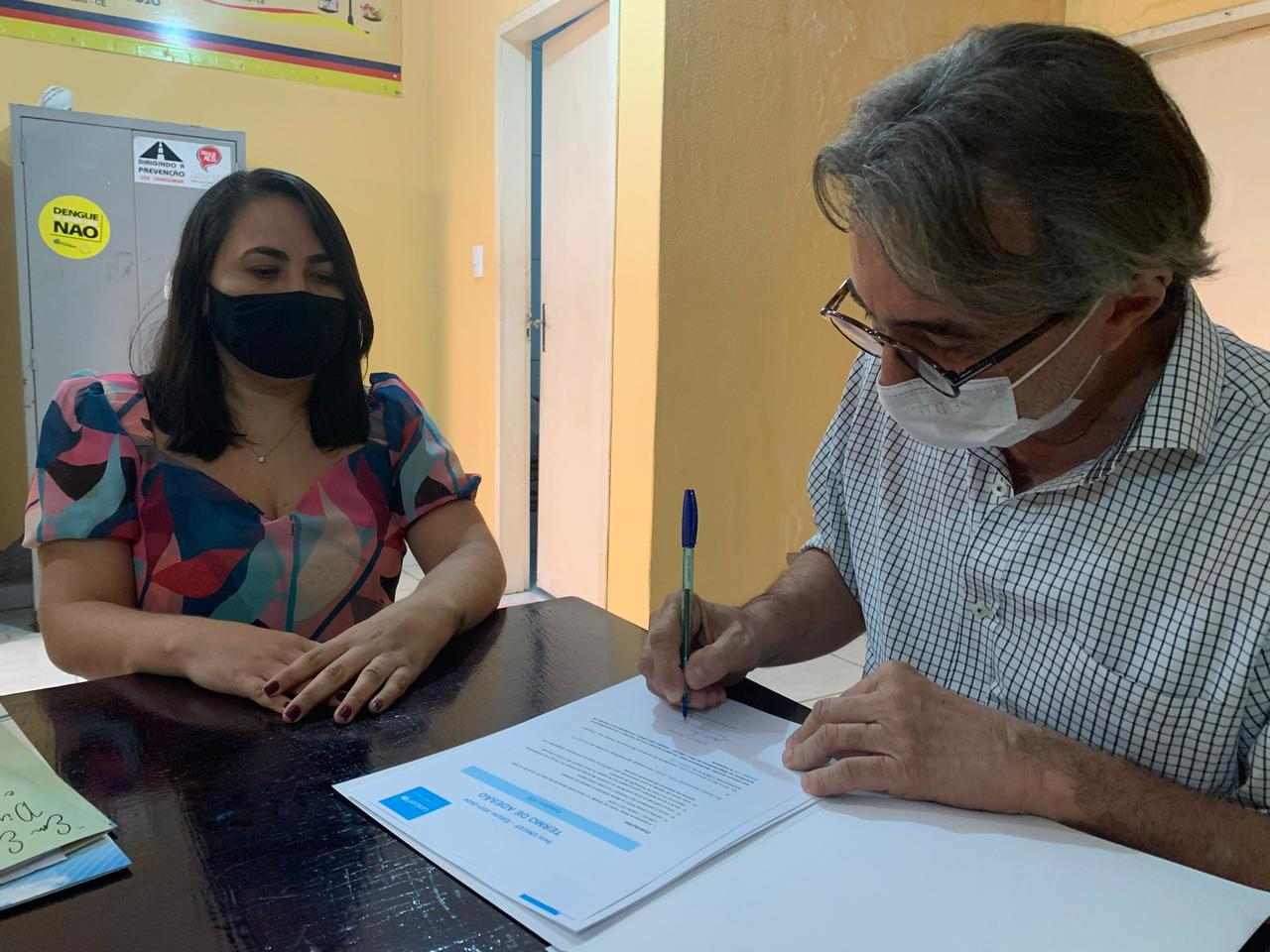Prefeitura de Eusébio assina termo de adesão ao Selo Unicef 2021-2024