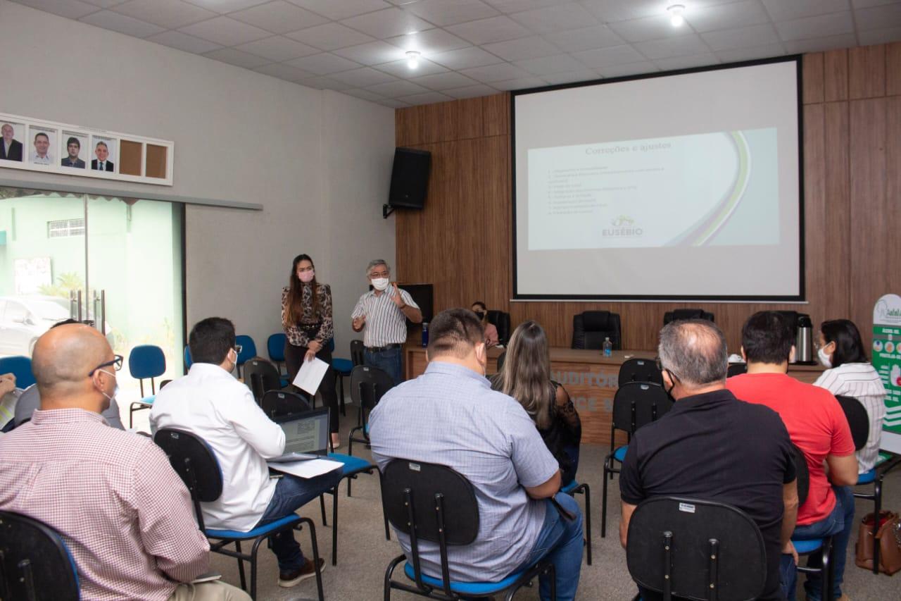 Prefeitura de Eusébio reúne o Comitê de Gestão de Resultados visando o melhor funcionamento da máquina pública