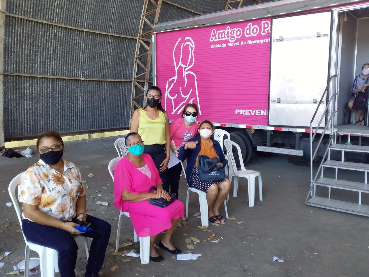 Prefeitura de Eusébio conclui primeiro mutirão de mamografias de 2021 atendendo 320 mulheres