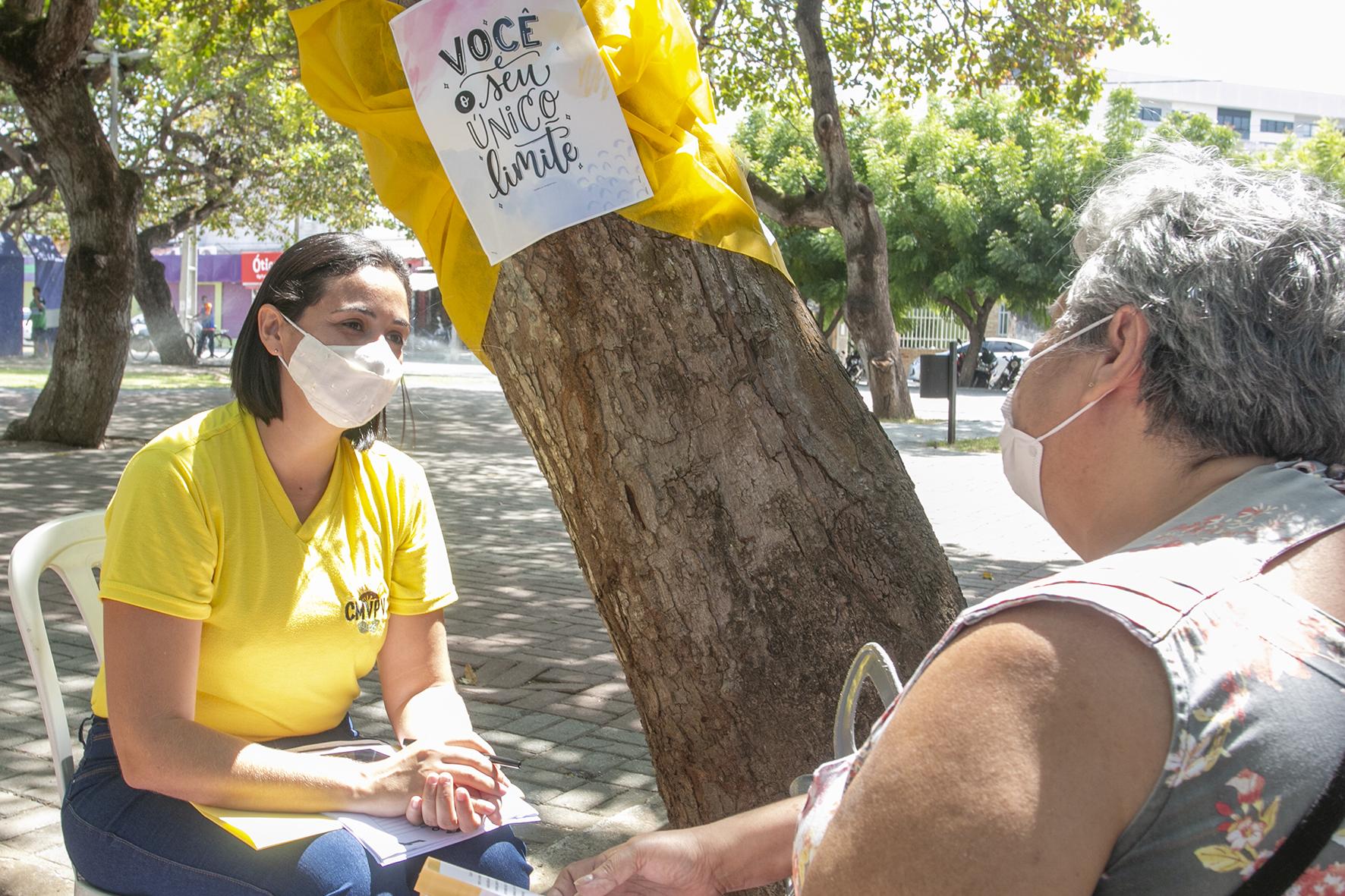 Eusébio realiza evento em comemoração ao Setembro Amarelo