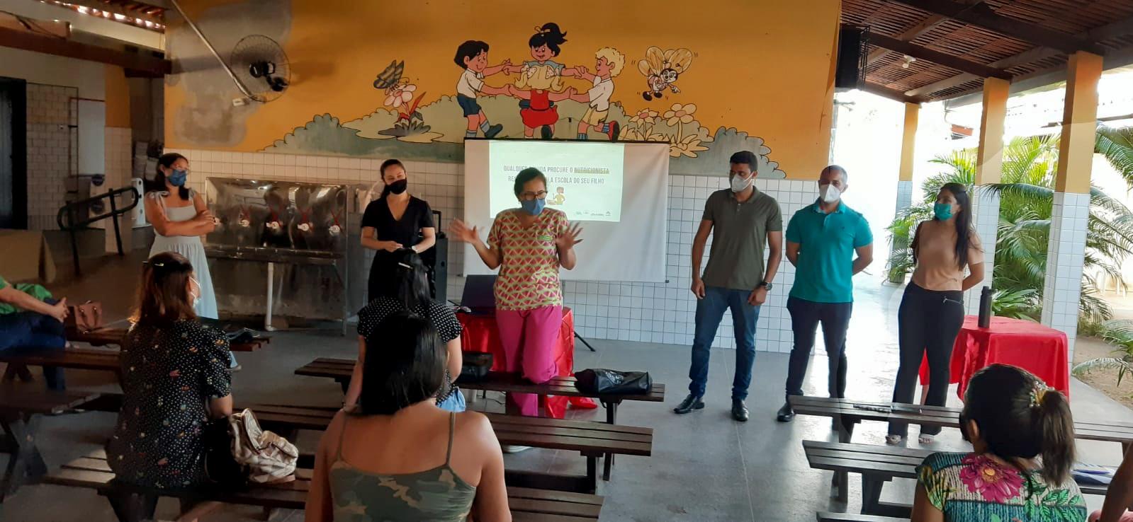 Prefeitura de Eusébio realiza Projeto Crescer Saudável de combate a obesidade infantil nas escolas