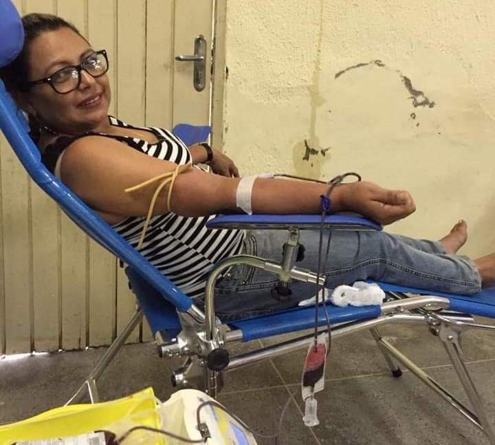 Servidora de Eusébio realiza sonho de ser doadora de medula óssea
